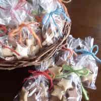 Star-Shaped Macrobiotic Cookies