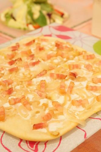 Alsatian Pizza