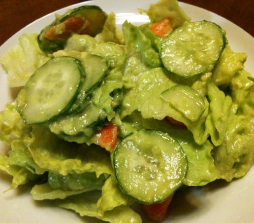Vegan Avocado Salad