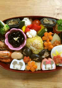 Osechi That Can Be Made In Advance and Frozen - Shrimp Simmered In Umami Sauce