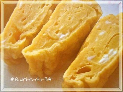 Basic Homemade Tamagoyaki for Bento