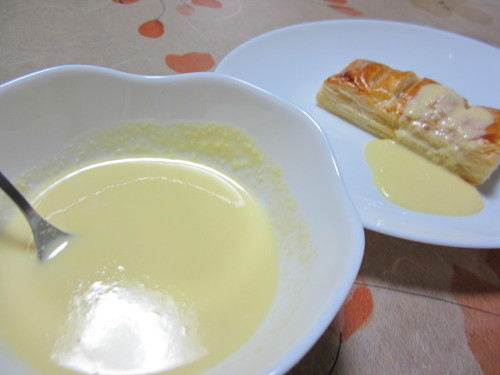 Custard Sauce for Apple Pie
