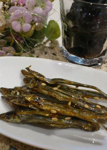 Candied Sardines for New Year's