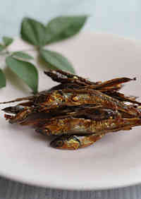 Candied Small Dried Sardines for New Year's