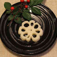 For Osechi (New Year's Feast) Decorative Lotus Root Slices
