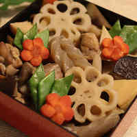 For Osechi! Cute & Extravagant With Decorative Vegetables - Chikuzen-ni