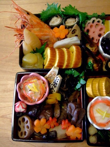 Make on December 31 - Macrobiotic Osechi (New Years Feast Food): Simmered Konnyaku