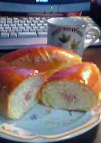 Homemade Ham Roll Bread