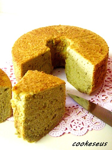 Whole-Egg Banana Chiffon Cake