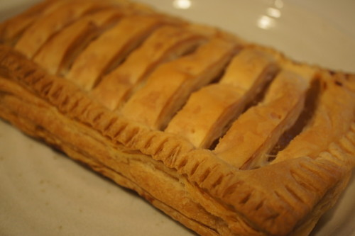 Easy Apple Pie Made with Frozen Puff Pastry.