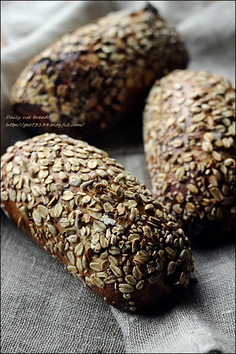 Rye Bread with Dates and Seeds