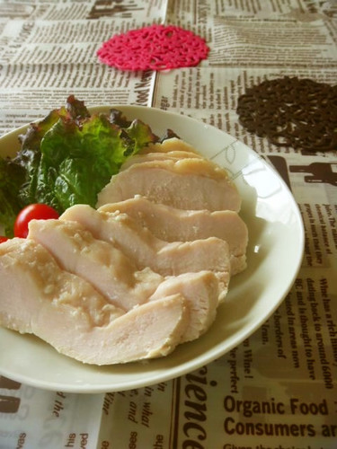 Moist Chicken Ham with Shio-Koji!