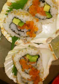 California Roll for Guests