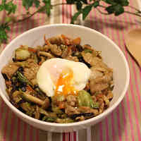 Veggie Packed Sweet-Savory Pork Rice Bowl