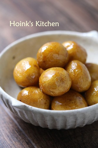 Deep-Fried and Simmered New Potatoes
