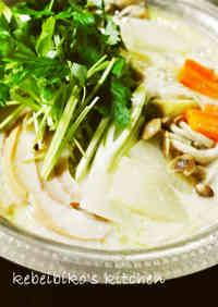 Shio-Koji & Sake Lees Hot Pot