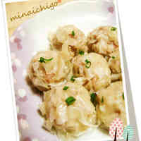 Microwaved Flower Shumai