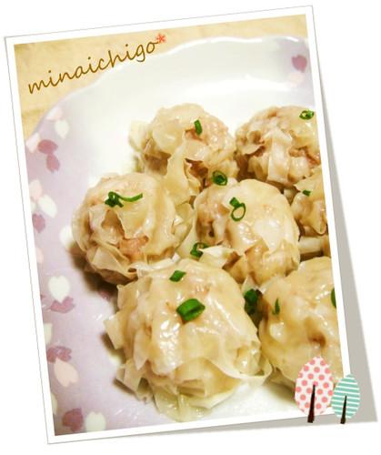 Microwaved Flower Shumai