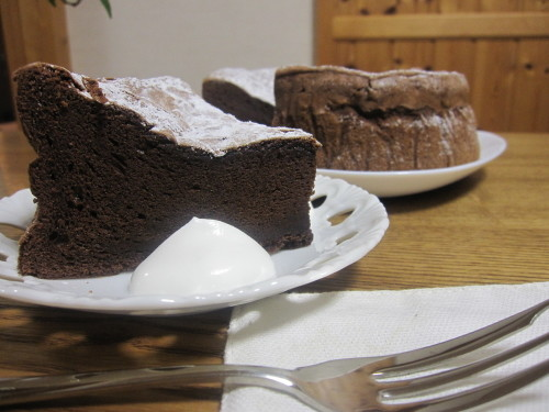 Rich and Thick Gateau au Chocolat