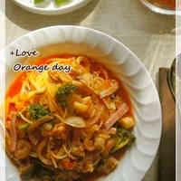Seafood Tomato Pasta Soup