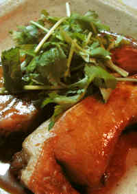 Easy Simmered Yellowtail