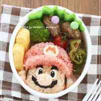 For Charaben (Decorative Bentos) - Super Mario