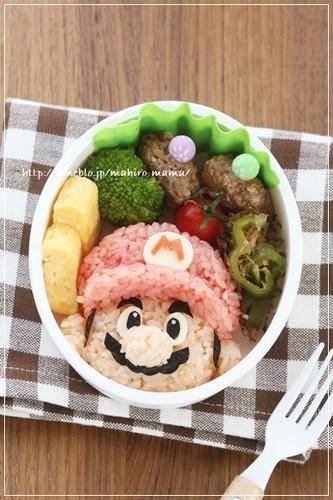 For Charaben (Decorative Bentos) - Super Mario