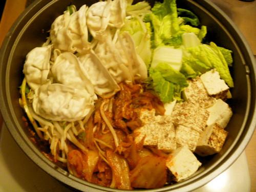 This Stamina Gyoza Kimchi Hot Pot Will Make You Sweat