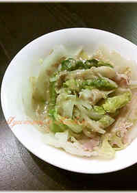 Layered and Simmered Napa Cabbage and Pork
