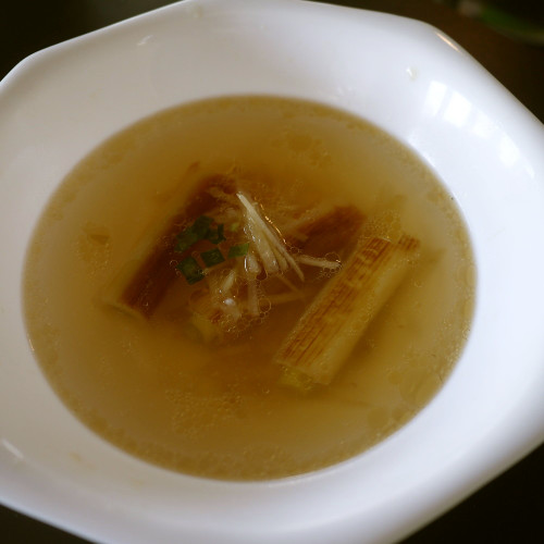 Warm Your Body! Seared Japanese Leek and Ginger Soup