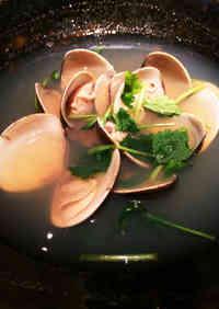 A Standard! Hamaguri Clam Sake Simmer