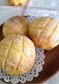Butter-free Kabocha Melon Bread in a Bread Maker
