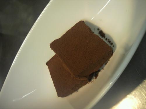 Chocolate Pavé-Style Truffle