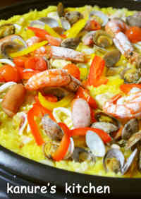 Easy Paella on an Electric Griddle