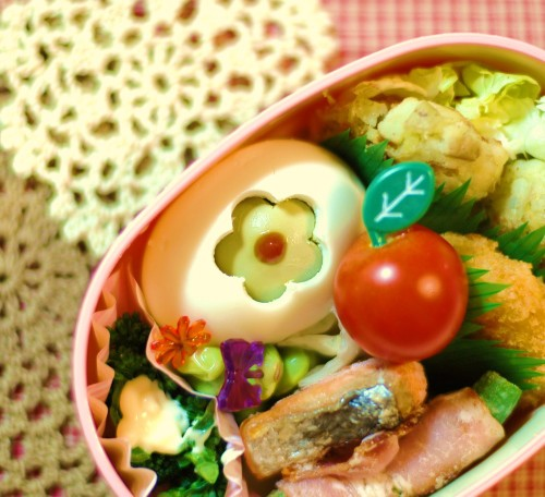 Quick and Cute Boiled Egg for Bento