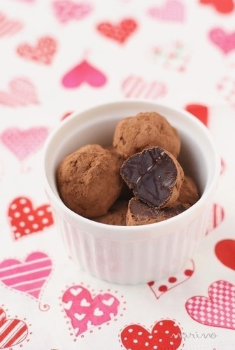 Melty Truffles For Valentine's Day