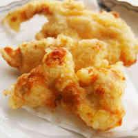 Mentsuyu-seasoned Chicken Tempura
