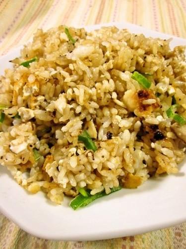 Macrobiotic Fried Rice with Doubanjiang