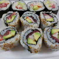 California Roll with Raw Tuna