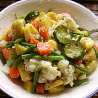 Hearty Vegetable Italian Salad