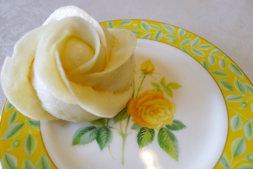 Rose Shaped Steamed Bread