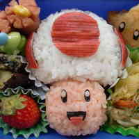 Super Mario Toad (Kinopio) For Charaben (Decorative Bentos)