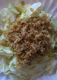 Cabbage with Ginger Olive Oil