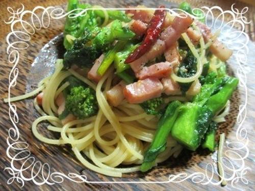 Springtime Pasta with Nanohana