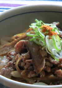 A Taste of Mom's Cooking: Udon or Soba with Meat