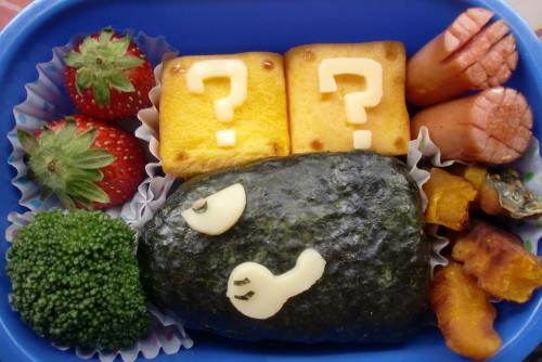 Bento with Bullet Bill from Super Mario