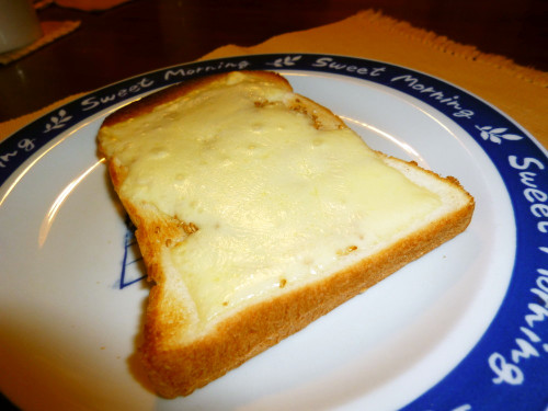 For a Lunch for One Sesame Cheese Toast