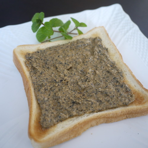Aromatic! Kinako Maple Black Sesame Seed Toast