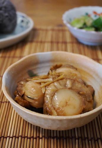 Easy ☆ Ginger-Boiled Scallops
