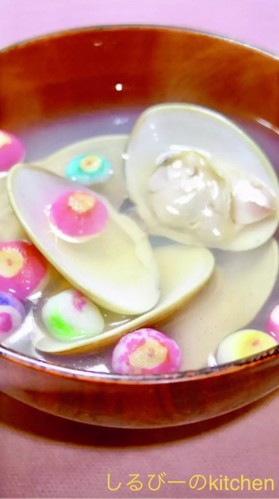 A Chef's Recipe for Hamaguri Clam Broth for Girl's Day